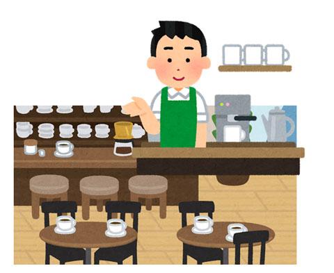 喫茶店経営